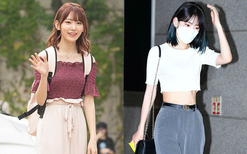 """Lột xác từ style Nhật """"thắm thơm"""" sang style Hàn cá tính, Sakura (IZ*ONE) khiến netizen phải trầm trồ không ngớt"""