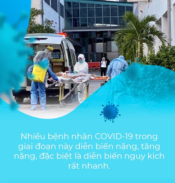Thứ trưởng Bộ Y tế Nguyễn Trường Sơn: Nhiều yếu tố dễ dẫn đến nguy cơ tăng nặng rất nhanh khi nhiễm COVID-19 - Ảnh 4.