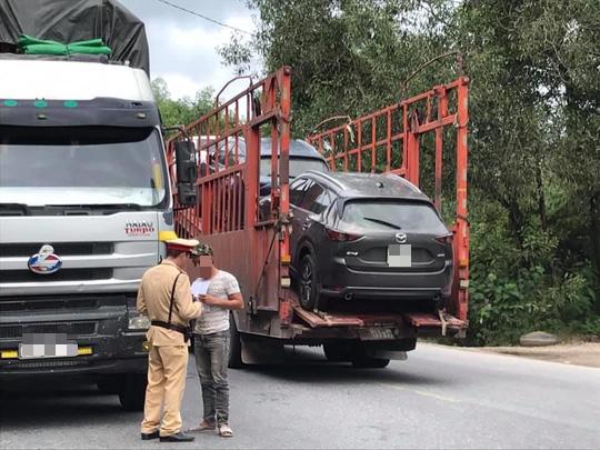 Lái xe cần biết khi vận chuyển hàng hóa đi qua, vào Thừa Thiên - Huế - ảnh 1