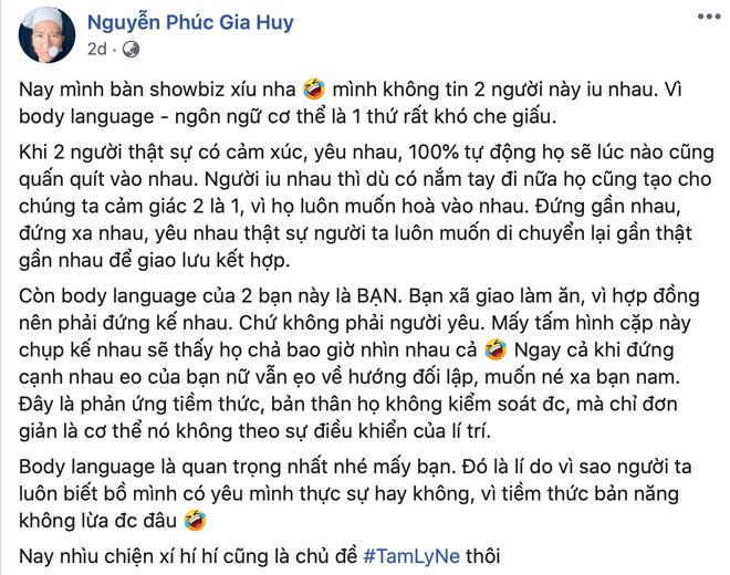 Vlogger Dưa Leo bất ngờ khẳng định: Hương Giang - Matt Liu vì hợp đồng nên đứng kế nhau, chứ không phải người yêu - ảnh 1