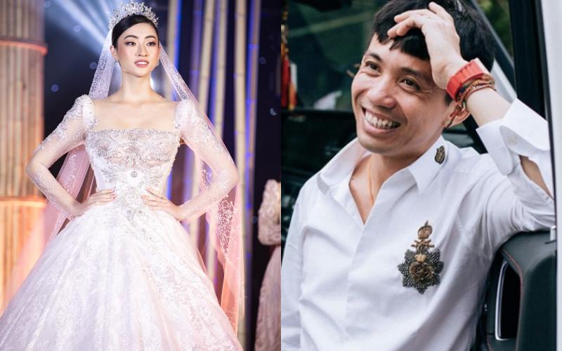 Minh Nhựa chi hơn 400 triệu đồng đấu giá váy cưới của Lương Thuỳ Linh ủng hộ Đà Nẵng chống Covid-19