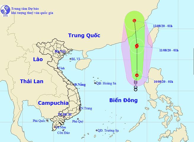 Áp thấp nhiệt đới có khả năng mạnh lên thành bão số 3 gây mưa dông, gió giật - ảnh 1