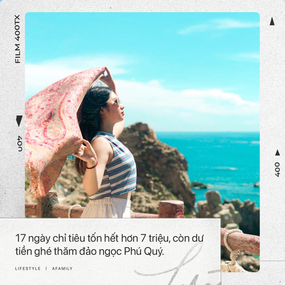 Cô nàng độc thân 26 tuổi lần đầu đi xuyên Việt bằng xe máy với 7 triệu và 17 ngày: Cả tuổi trẻ dành để đi bụi, sống không dũng cảm uổng phí thanh xuân! - Ảnh 3.