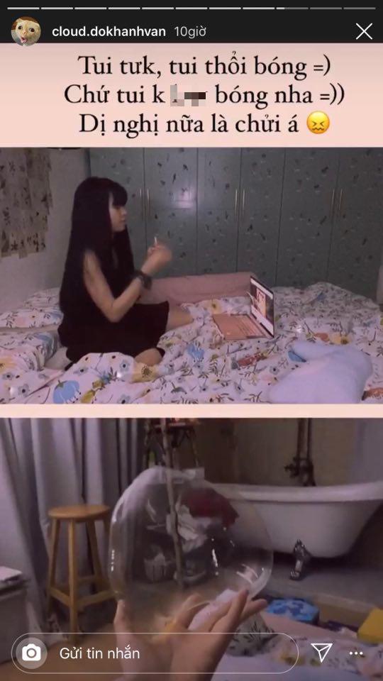Bị đồn là bad girl, Khánh Vân (Mắt Biếc) chẳng ngại thừa nhận và còn đáp trả cực gắt - ảnh 2