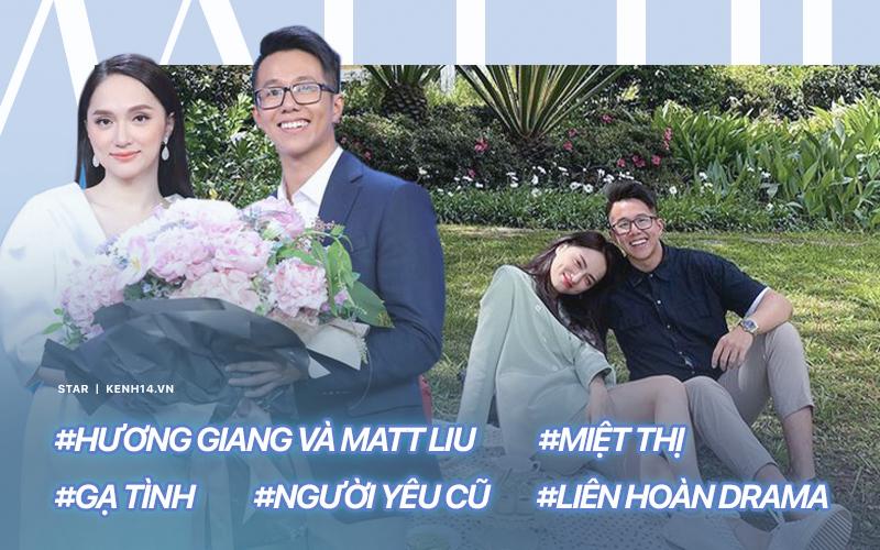 """Mới công khai 5 ngày, Hương Giang và Matt Liu đã gặp liên hoàn sóng gió: 2 chữ """"tình cũ"""" và """"miệt thị"""" đủ bao trọn drama Vbiz"""