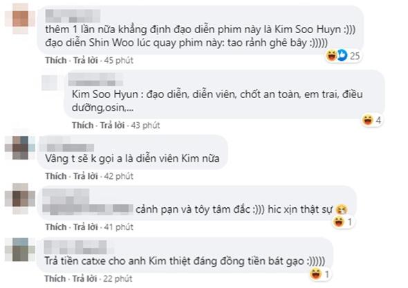 Khoảnh khắc Kim Soo Huyn bùng nổ đam mê làm đạo diễn: Cảnh đạp méo cửa để giấu bồ ở Điên Thì Có Sao là anh đây nghĩ ra đó! - ảnh 6