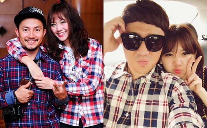 Hari Won bất ngờ lên tiếng về tin đồn Trấn Thành là người thứ ba chen vào mối tình 9 năm giữa cô với Tiến Đạt trên sóng truyền hình - ảnh 1