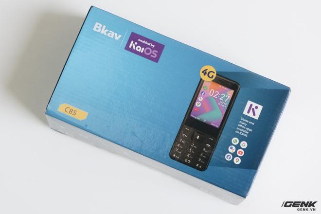 Trên tay BKAV C85 giá 500.000 đồng: Pin 3000mAh, chạy KaiOS, hỗ trợ 4G, tiếc rằng không có Wi-Fi - ảnh 1