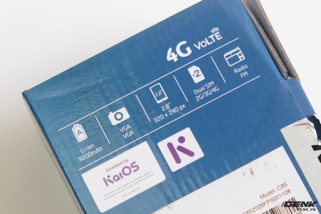 Trên tay BKAV C85 giá 500.000 đồng: Pin 3000mAh, chạy KaiOS, hỗ trợ 4G, tiếc rằng không có Wi-Fi - ảnh 2