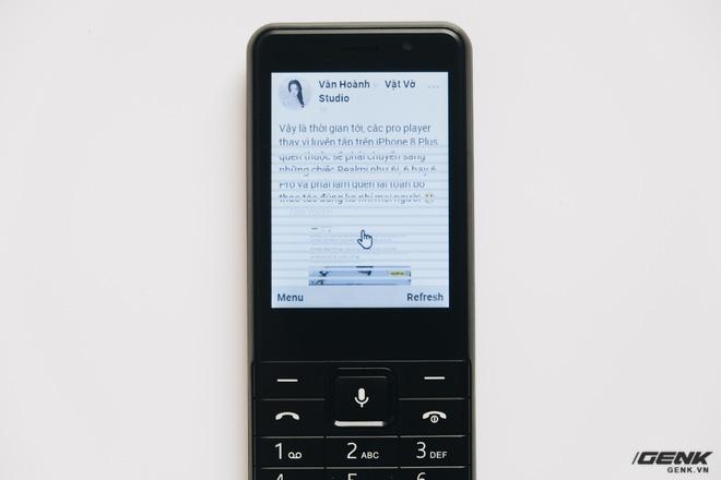 Trên tay BKAV C85 giá 500.000 đồng: Pin 3000mAh, chạy KaiOS, hỗ trợ 4G, tiếc rằng không có Wi-Fi - ảnh 19