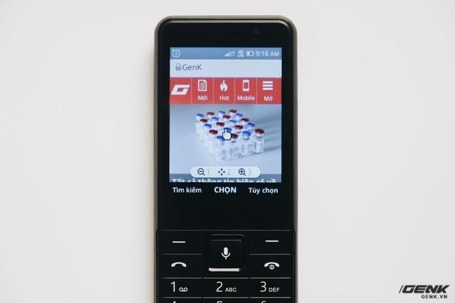 Trên tay BKAV C85 giá 500.000 đồng: Pin 3000mAh, chạy KaiOS, hỗ trợ 4G, tiếc rằng không có Wi-Fi - ảnh 22