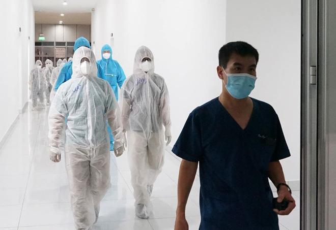 Những hình ảnh về Bệnh viện Dã chiến Tiên Sơn ở Đà Nẵng sắp đưa vào sử dụng - ảnh 11