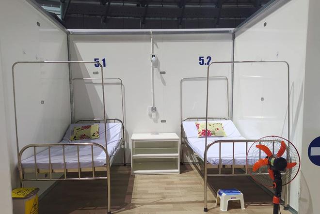 Những hình ảnh về Bệnh viện Dã chiến Tiên Sơn ở Đà Nẵng sắp đưa vào sử dụng - ảnh 13
