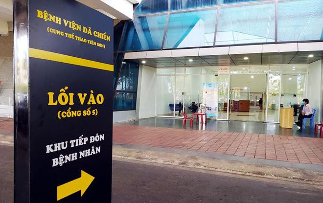 Những hình ảnh về Bệnh viện Dã chiến Tiên Sơn ở Đà Nẵng sắp đưa vào sử dụng - ảnh 7