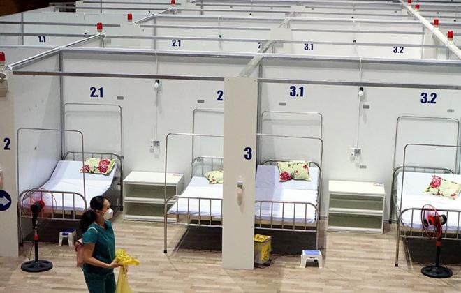 Những hình ảnh về Bệnh viện Dã chiến Tiên Sơn ở Đà Nẵng sắp đưa vào sử dụng - ảnh 9