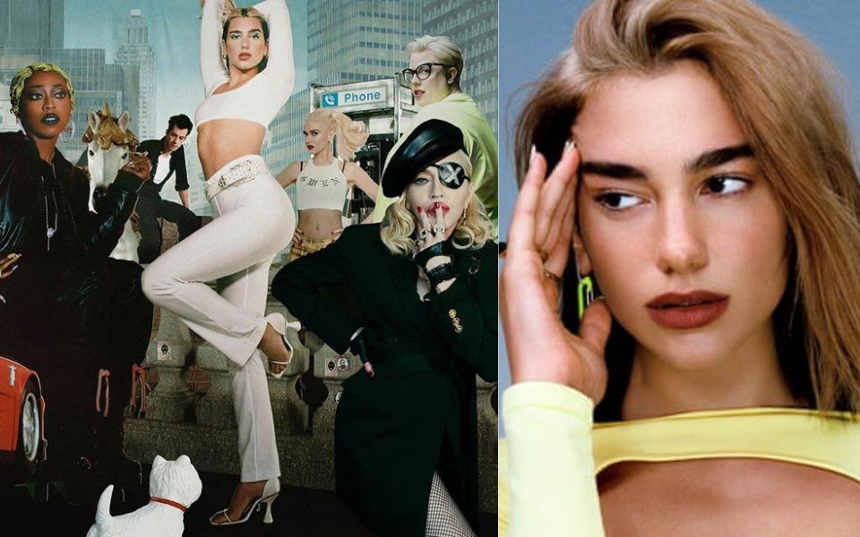 """Dua Lipa hợp tác cùng Madonna và Missy Elliott, tưởng cho ra siêu hit ai ngờ bị dân tình chê """"một mớ hỗn độn như nồi cháo thập cẩm""""?"""