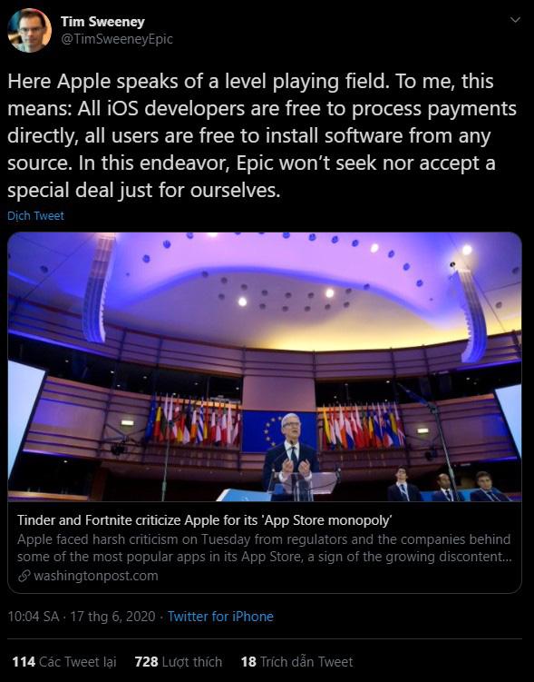 Epic Games cho phép người chơi Fortnite vượt rào thanh toán In-game, thách thức Apple! - ảnh 4