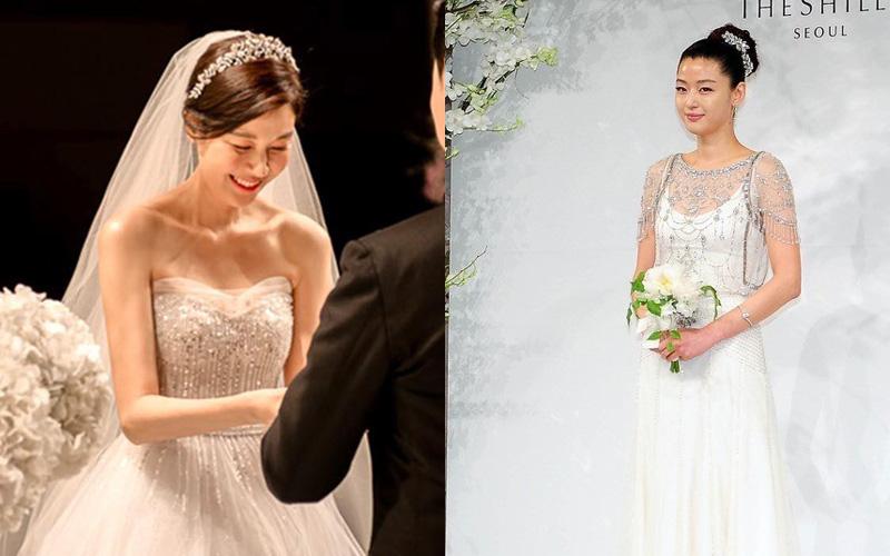 Váy cưới của dàn mỹ nhân huyền thoại, Kim Ha Neul Han Ga In, Jeon Ji Hyun