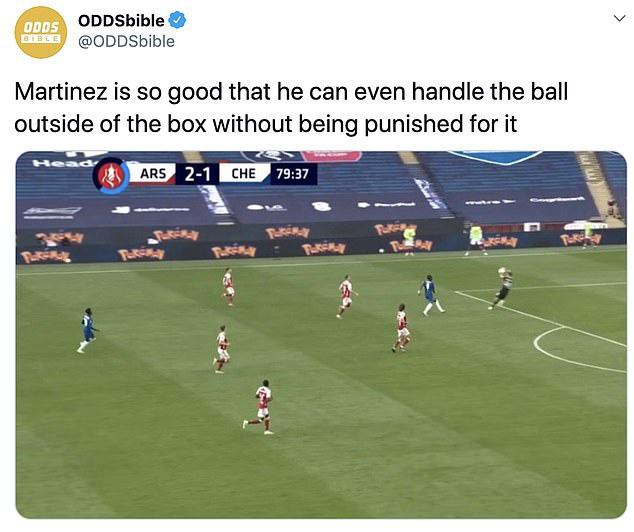 Tình huống gây tranh cãi ở chung kết FA Cup: Thủ môn Arsenal dùng tay ngoài vòng cấm nhưng vẫn đúng luật, theo VAR - ảnh 2