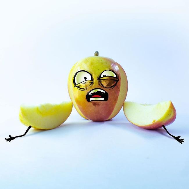 Khi trái cây vô hồn có cảm xúc: Loạt tác phẩm khắc họa nỗi đau và cuộc đời bi kịch của chúng khi bị con người xẻ thịt - ảnh 18