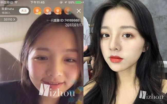 Hotgirl mạng Trung Quốc bị bóc mẽ nhan sắc thật: Biết rõ là hình ảnh được chỉnh quá đà nhưng vẫn khiến nhiều người bật ngửa khi gặp ngoài đời - ảnh 7