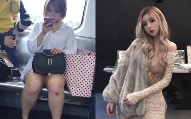 Hotgirl mạng Trung Quốc bị bóc mẽ nhan sắc thật: Biết rõ là hình ảnh được chỉnh quá đà nhưng vẫn khiến nhiều người bật ngửa khi gặp ngoài đời - ảnh 8