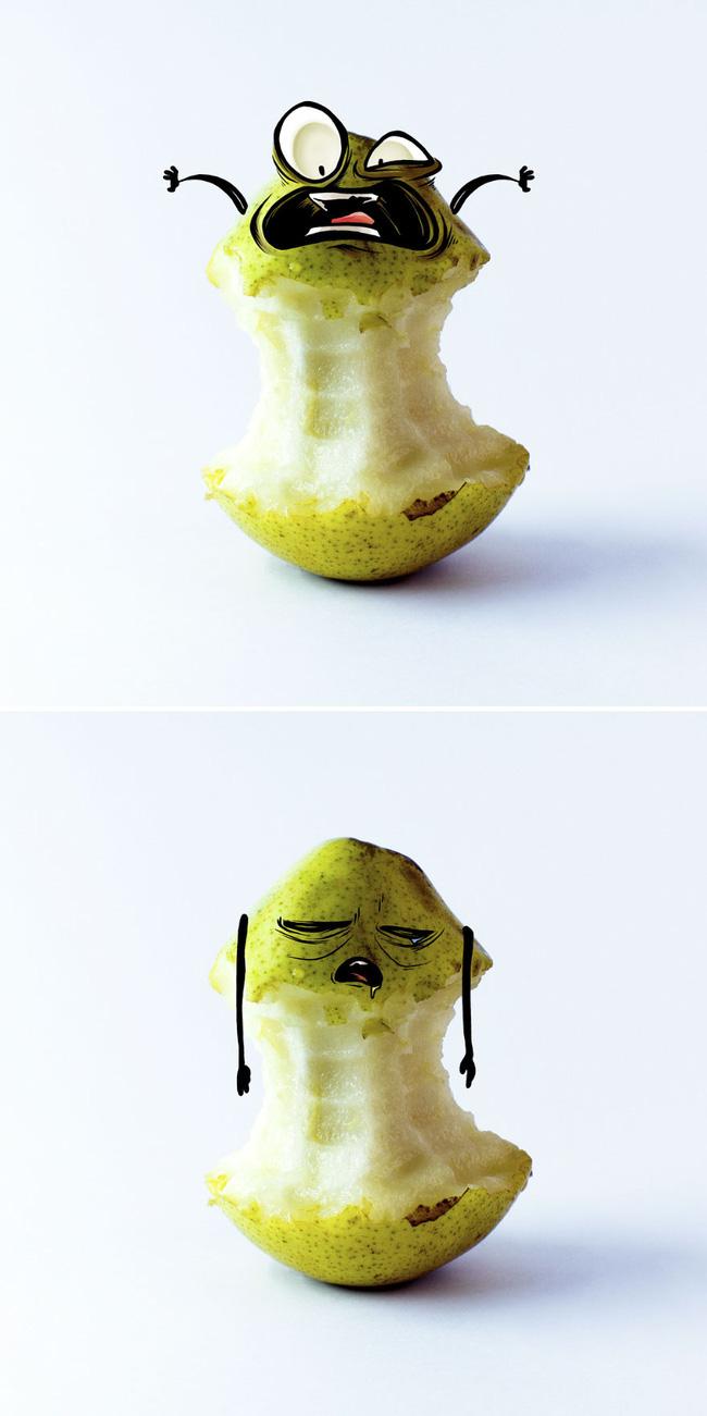 Khi trái cây vô hồn có cảm xúc: Loạt tác phẩm khắc họa nỗi đau và cuộc đời bi kịch của chúng khi bị con người xẻ thịt - ảnh 10