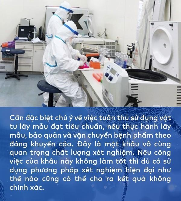 BS ĐHYHN khuyến cáo: Để có kết quả xét nghiệm chính xác vấn đề quan trọng nhất cần lưu ý chính là việc lấy mẫu bệnh phẩm - Ảnh 1.