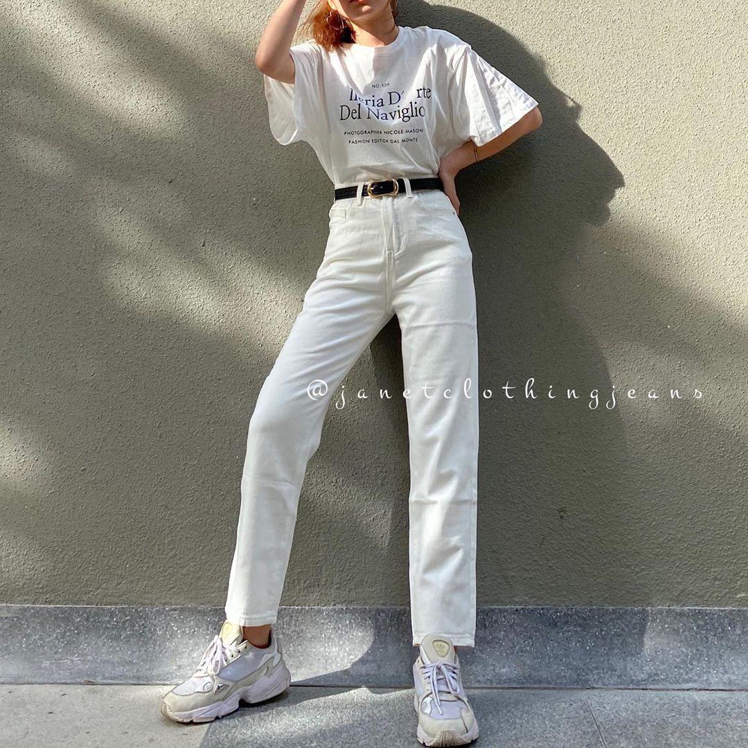 Cùng diện quần jeans: Mẹ bỉm sữa Triệu Lệ Dĩnh khoe style hack tuổi, Địch Lệ Nhiệt Ba hết mức cool ngầu - Ảnh 9.
