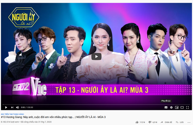 Không chỉ gây bão trong nước, Người ấy là ai & Rap Việt còn lọt top trending YouTube ở Singapore, Đài Loan! - ảnh 4