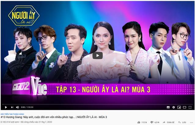 Không chỉ gây bão trong nước, Người ấy là ai & Rap Việt còn lọt top trending YouTube ở Singapore, Đài Loan! - ảnh 5