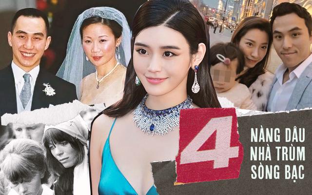 """4 nàng dâu gia tộc trùm sòng bạc Macau: Dâu trưởng """"khắc phu"""" đến ám ảnh, Ming Xi thị phi, """"Lọ Lem đời thực"""" không trụ được"""