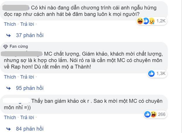 Trấn Thành gây tranh cãi khi làm MC Rap Việt, Trịnh Thăng Bình chỉ ra 3 điểm bênh vực khiến dân tình phải gật gù - ảnh 4
