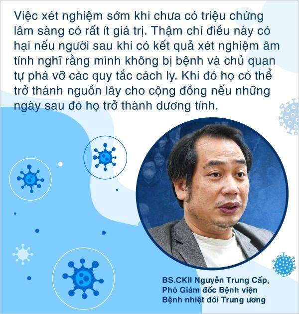 Hiểu đúng về test nhanh ở Hà Nội - Lý giải tại sao test âm tính vẫn phải tự cách ly đủ 14 ngày trước khi tái hòa nhập cộng đồng - ảnh 2