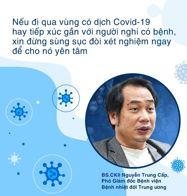 Hiểu đúng về test nhanh ở Hà Nội - Lý giải tại sao test âm tính vẫn phải tự cách ly đủ 14 ngày trước khi tái hòa nhập cộng đồng - ảnh 3
