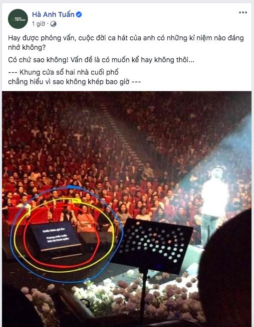 Hà Anh Tuấn kể kỉ niệm đáng nhớ nhất đời đi hát, cứ ngỡ ảnh sâu sắc ai dè là sự cố hớ hênh - ảnh 1