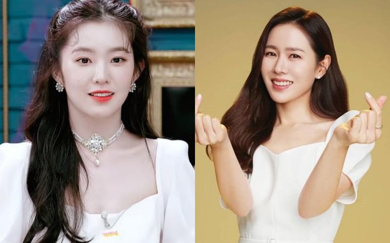 """Irene xinh như tiểu thư quý tộc, """"át vía"""" cả chị đẹp Son Ye Jin khi diện chung váy"""