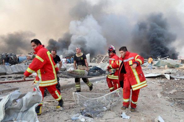 Một công dân Việt Nam bị thương trong vụ nổ kinh hoàng ở Lebanon - ảnh 2