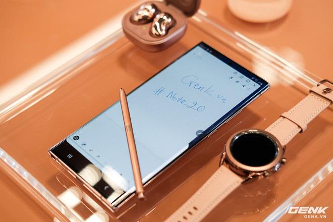 Trên tay Galaxy Note20/Note20 Ultra vừa ra mắt: Màu đẹp xuất sắc, hợp cả nữ lẫn nam - ảnh 11