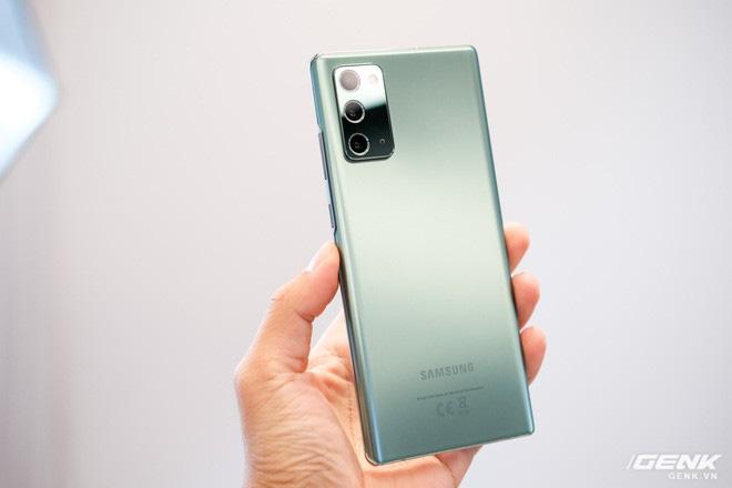Trên tay Galaxy Note20/Note20 Ultra vừa ra mắt: Màu đẹp xuất sắc, hợp cả nữ lẫn nam - ảnh 21