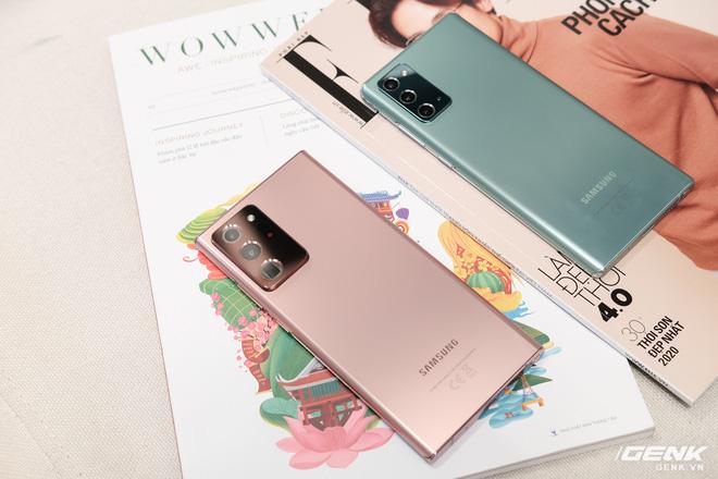 Trên tay Galaxy Note20/Note20 Ultra vừa ra mắt: Màu đẹp xuất sắc, hợp cả nữ lẫn nam - ảnh 24