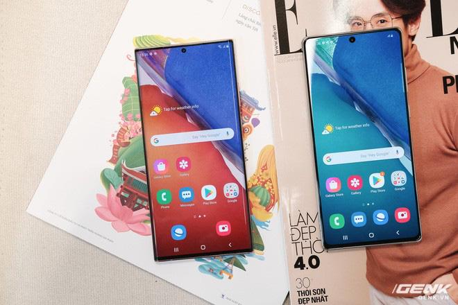 Trên tay Galaxy Note20/Note20 Ultra vừa ra mắt: Màu đẹp xuất sắc, hợp cả nữ lẫn nam - ảnh 26