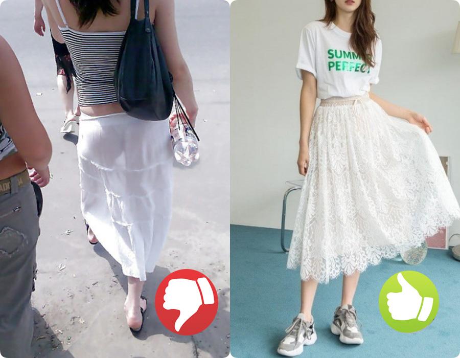 Cứ nghĩ áo váy màu trắng là thanh lịch nhất rồi, nào ngờ cũng đầy rẫy thảm họa nhé các nàng ơi! - Ảnh 4.
