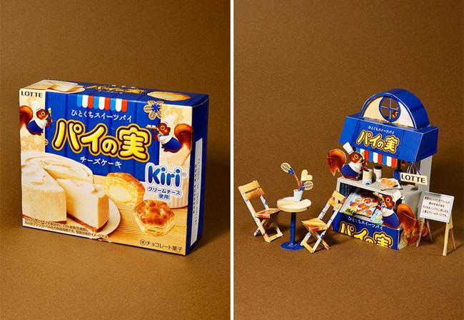 Tưởng chỉ vứt đi, bao bì bánh kẹo bỗng hóa tác phẩm nghệ thuật qua bàn tay của anh chàng Nhật - ảnh 5