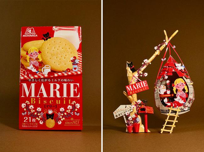 Tưởng chỉ vứt đi, bao bì bánh kẹo bỗng hóa tác phẩm nghệ thuật qua bàn tay của anh chàng Nhật - ảnh 6