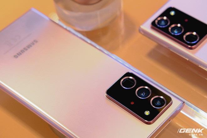 Trên tay Galaxy Note20/Note20 Ultra vừa ra mắt: Màu đẹp xuất sắc, hợp cả nữ lẫn nam - ảnh 6