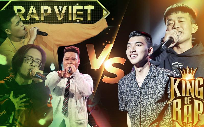2 màn trình diễn kéo nhau lên top trending giúp King Of Rap dẫn trước Rap Việt về số lượng, nhưng vẫn không thể hạ gục #1 vững vàng của đối thủ
