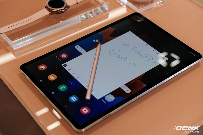 Ảnh thực tế Galaxy Tab S7 tại VN: Hai kích thước màn hình, sang trọng, gọn nhẹ! - ảnh 4