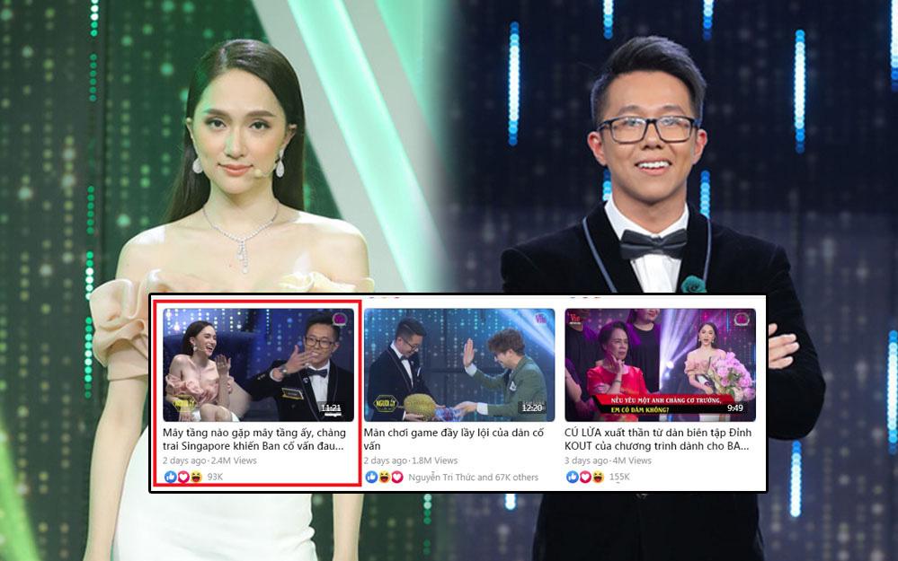 """Page của Hương Giang chỉ đăng mỗi clip giới thiệu CEO Matt Liu ở """"Người ấy là ai"""", phải chăng là lời khẳng định?"""
