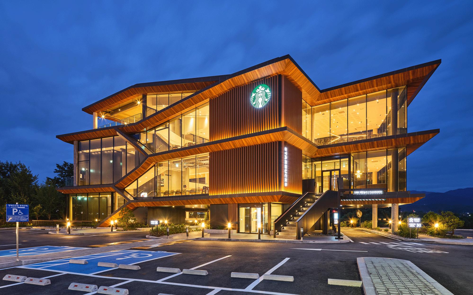 Starbucks Hàn Quốc mở cửa hàng lớn nhất từ trước đến nay với view cực đỉnh và còn có cả tiệm bánh